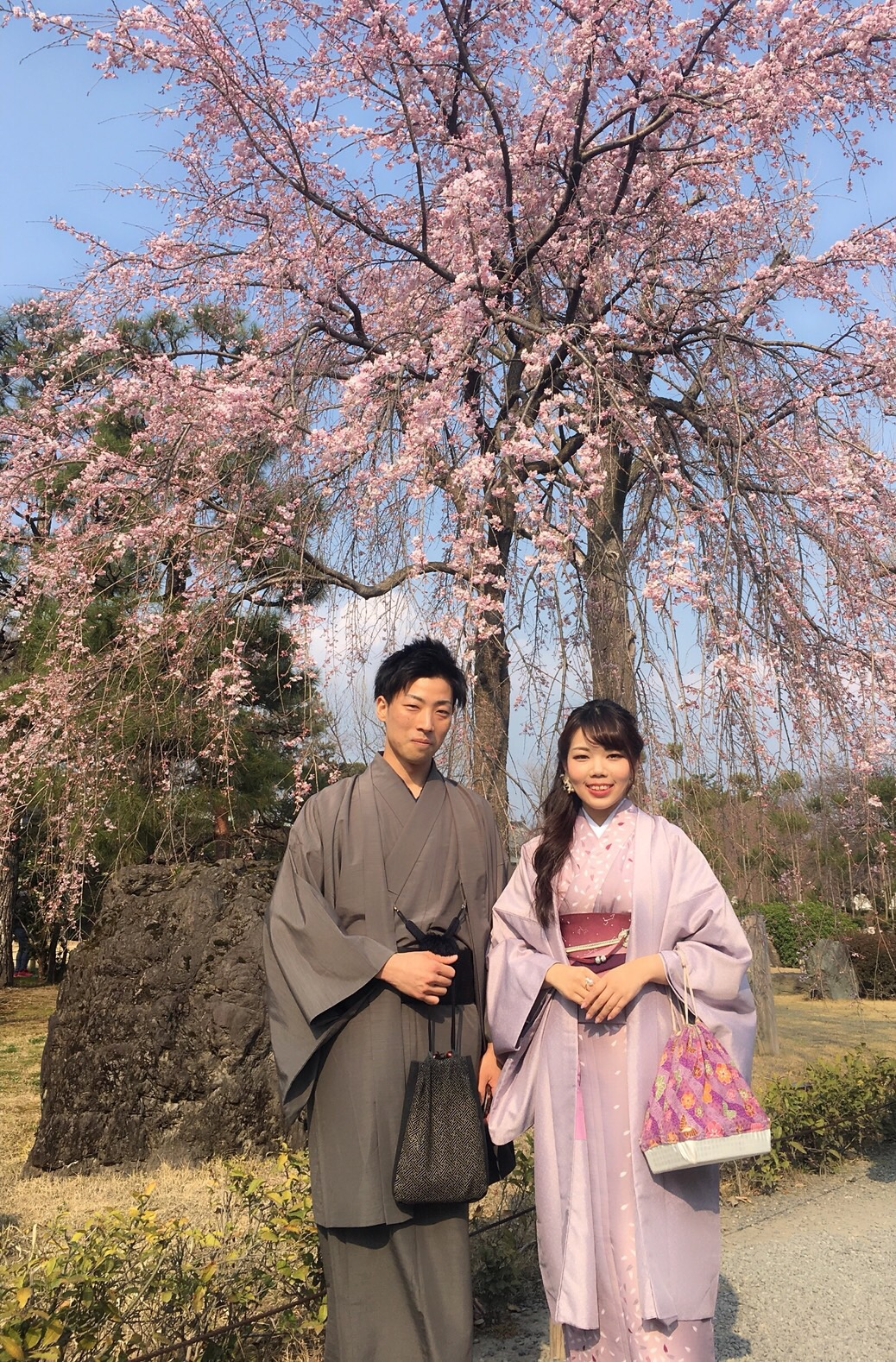 今日も京都御苑へお花見♡2019年3月26日15