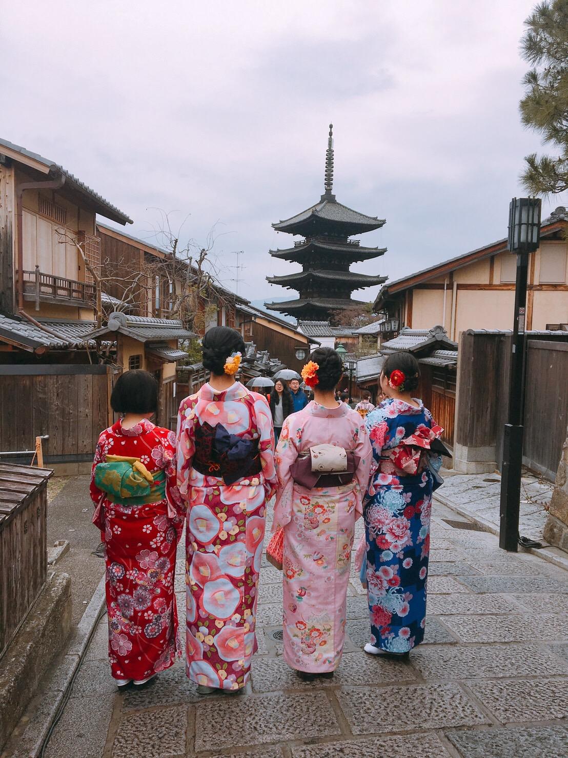 カップルで嵯峨嵐山 竹林の小径へ♡2019年3月6日4