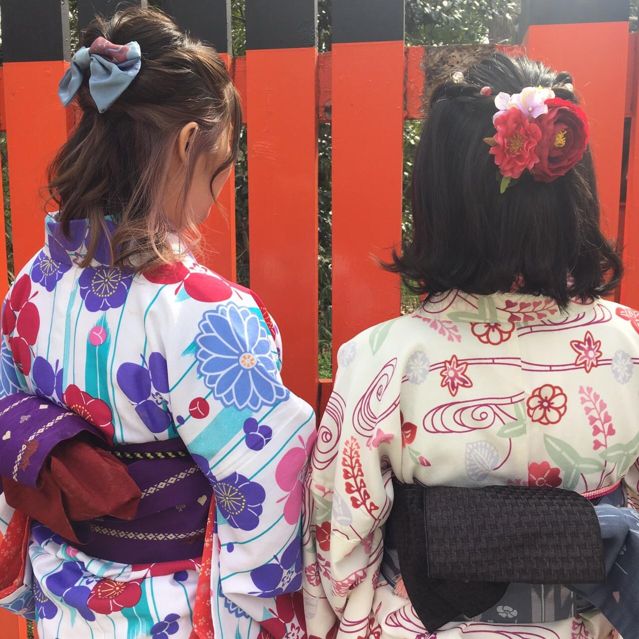 カップルで嵯峨嵐山 竹林の小径へ♡2019年3月6日6