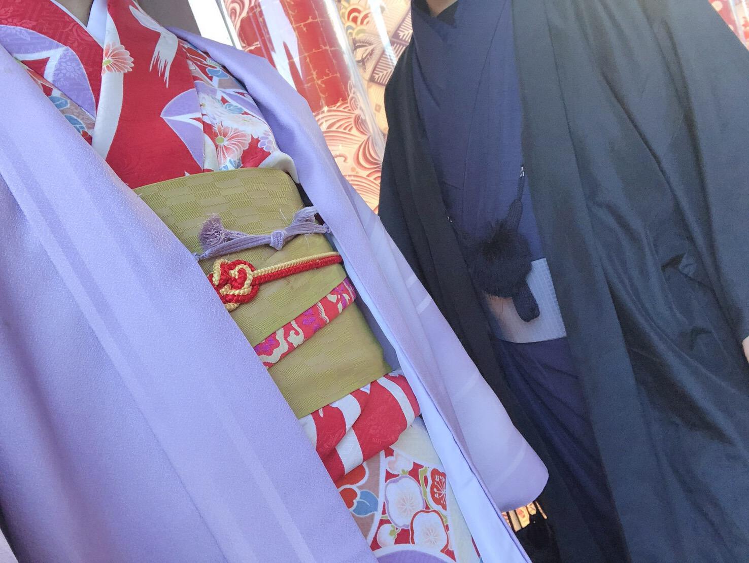 卒業の思い出に皆で京都で着物レンタル♪2019年3月17日7