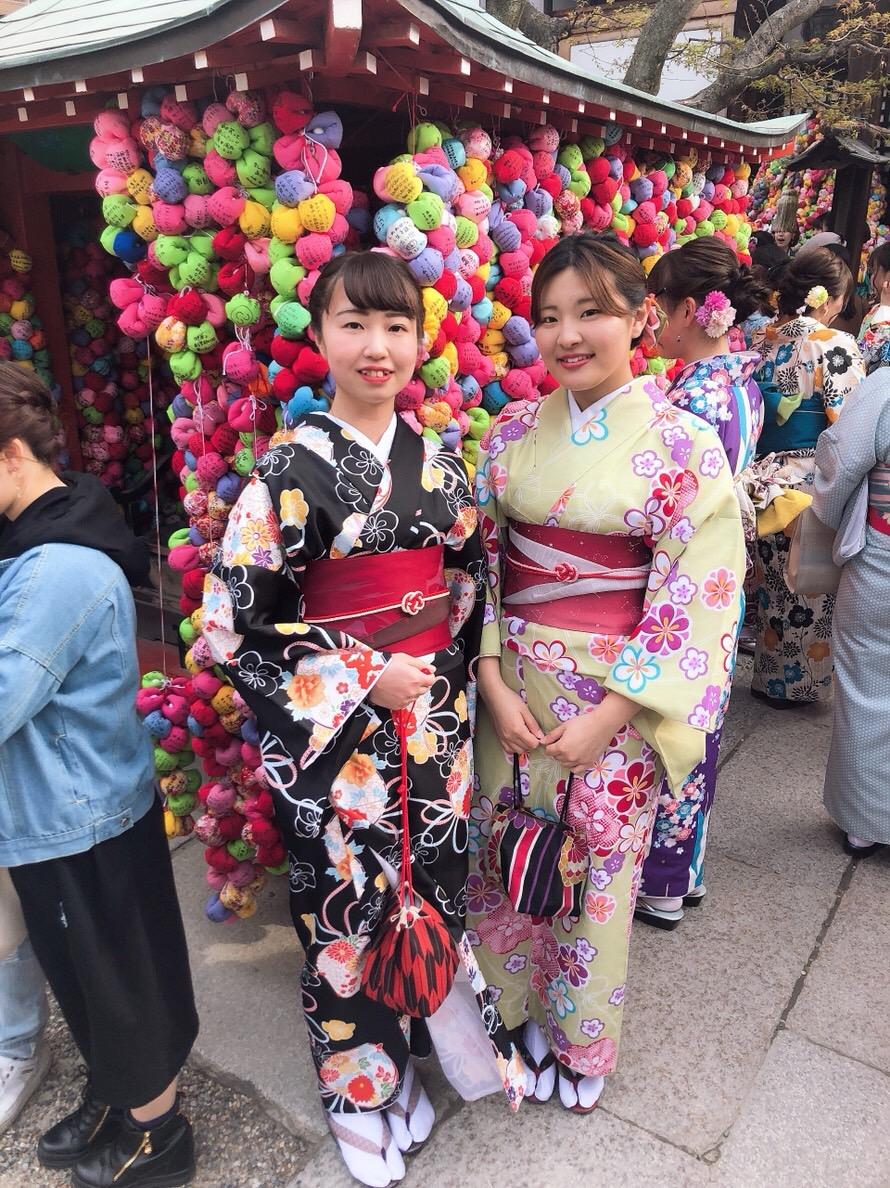 複数組のリピーター様♡春の京都へ♪2019年3月27日13