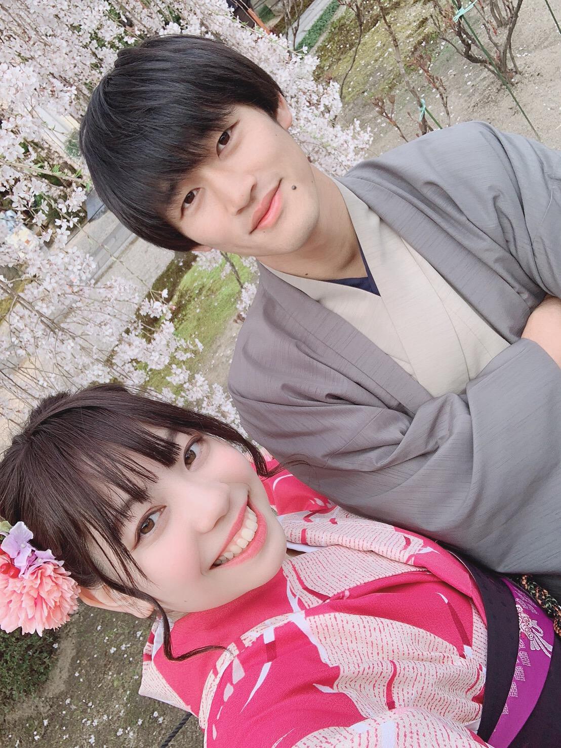 リピーター様❣平野神社でお花見2019年3月29日7
