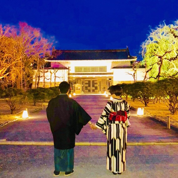 京都御苑の枝垂桜2019年3月25日7
