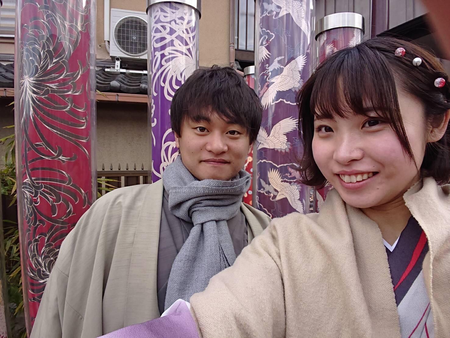 カップルプランで京都を満喫♡2019年3月24日16