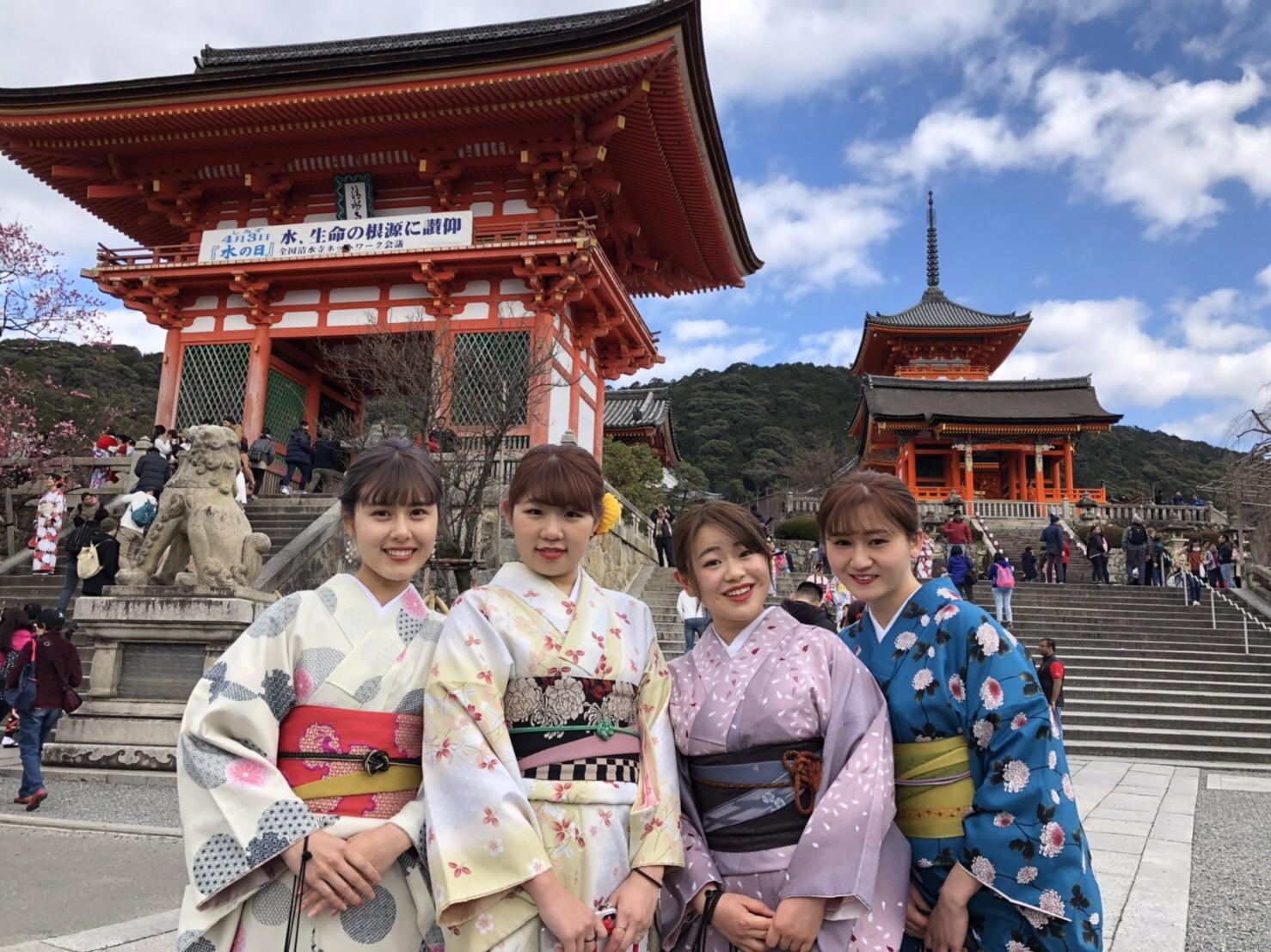 カップルプランで京都を満喫♡2019年3月24日13