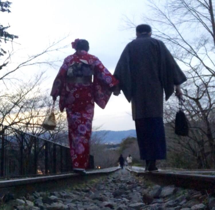 人気スポットの嵐山へ(^^♪2019年3月18日10