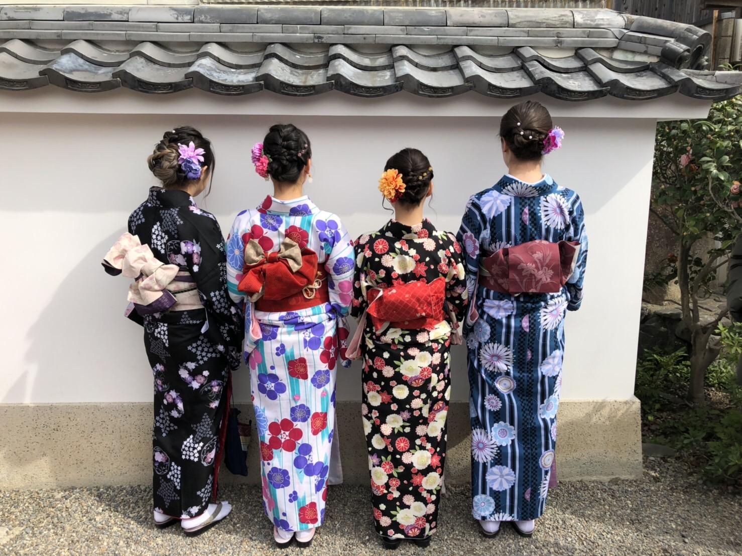 カップルで嵯峨嵐山 竹林の小径へ♡2019年3月6日9