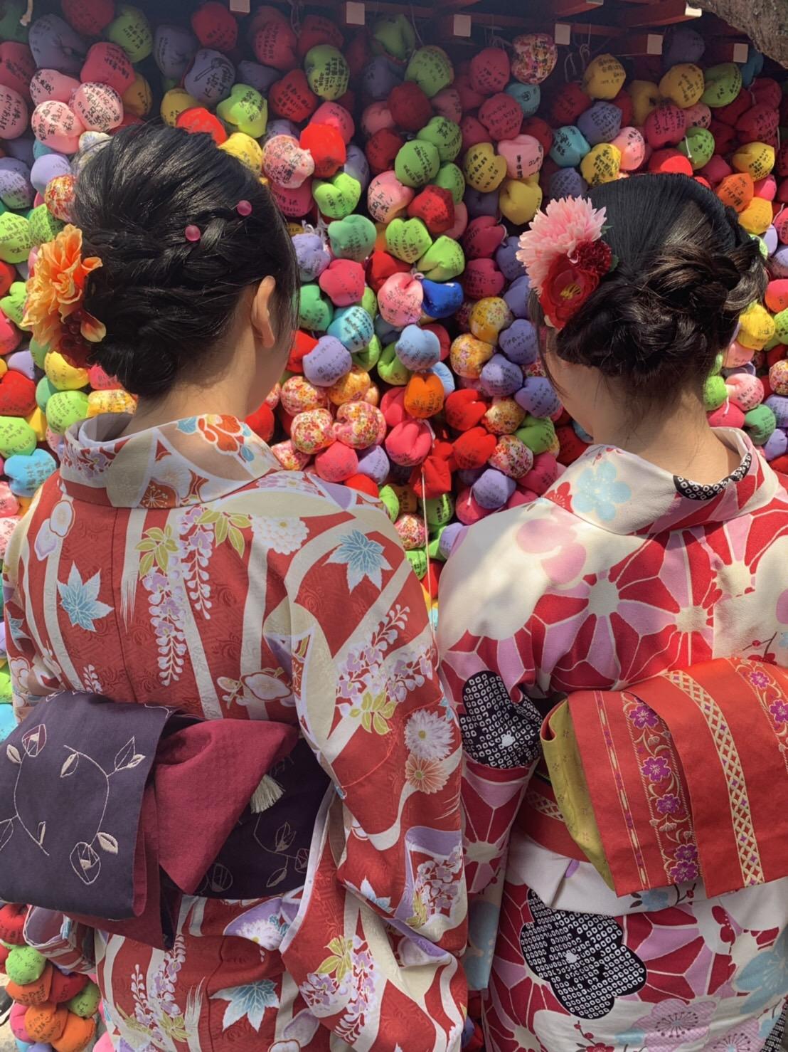 複数組のリピーター様♡春の京都へ♪2019年3月27日3