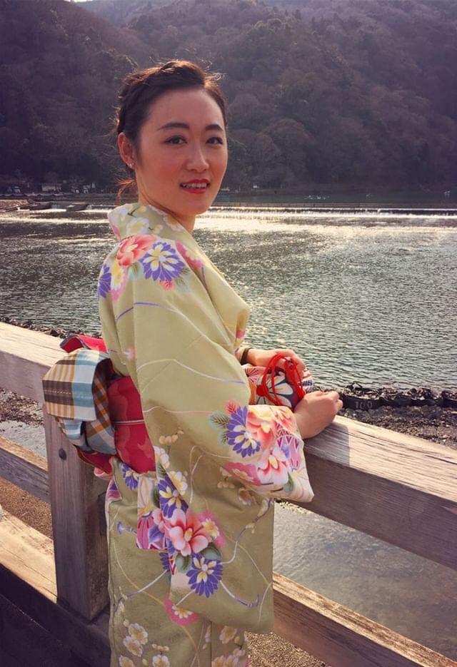 彼のお誕生日に着物で嵐山へ♡2019年3月15日3