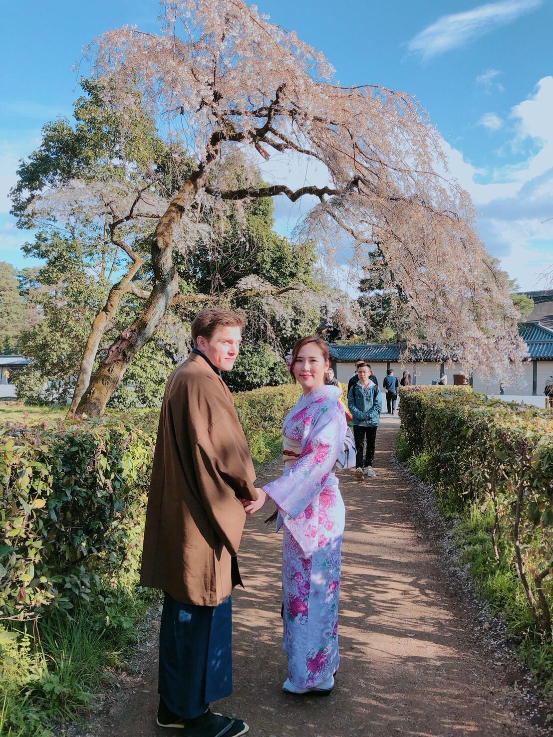 蹴上インクラインも桜咲いてきました!2019年3月31日13