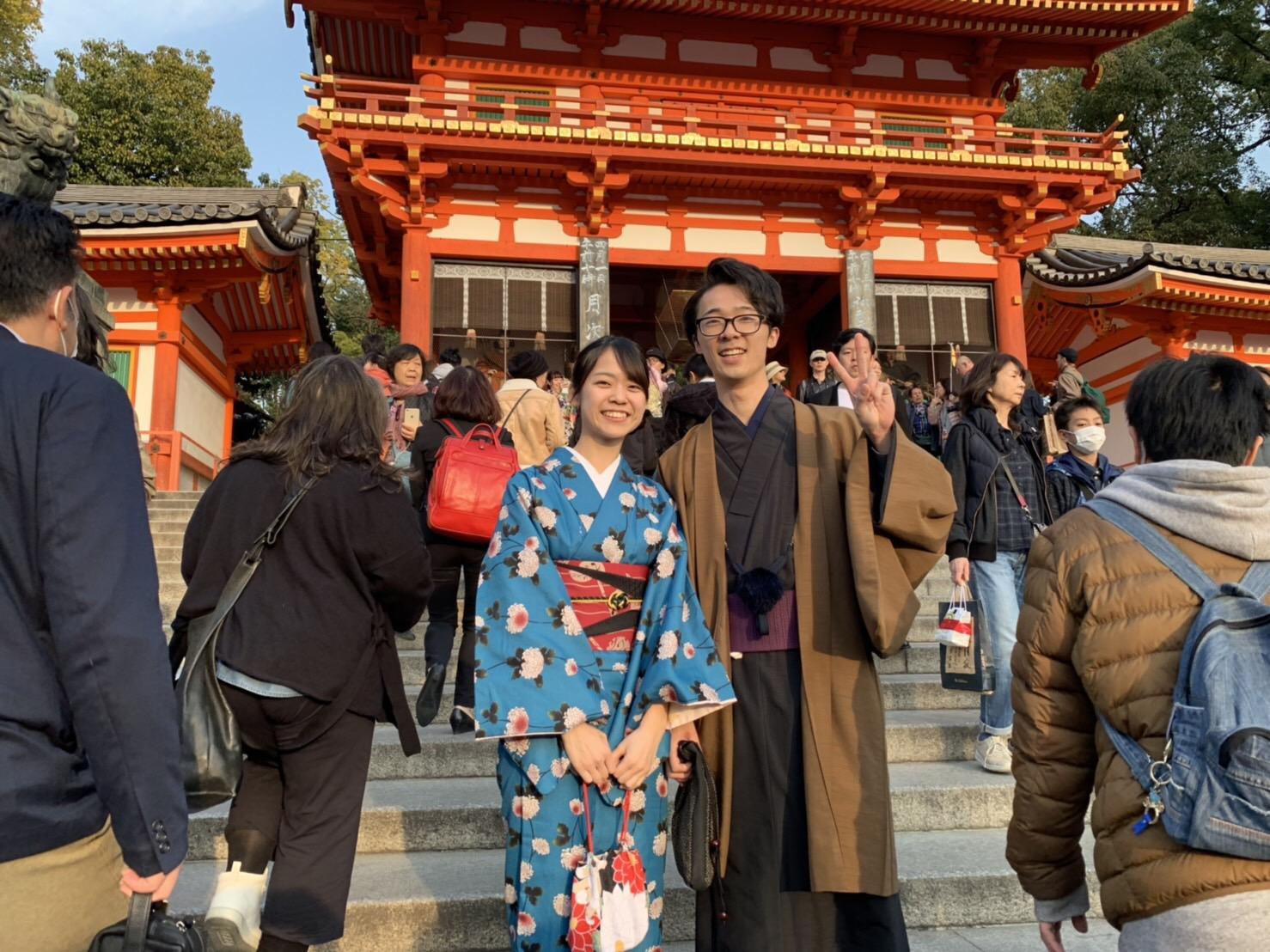 複数組のリピーター様♡春の京都へ♪2019年3月27日8