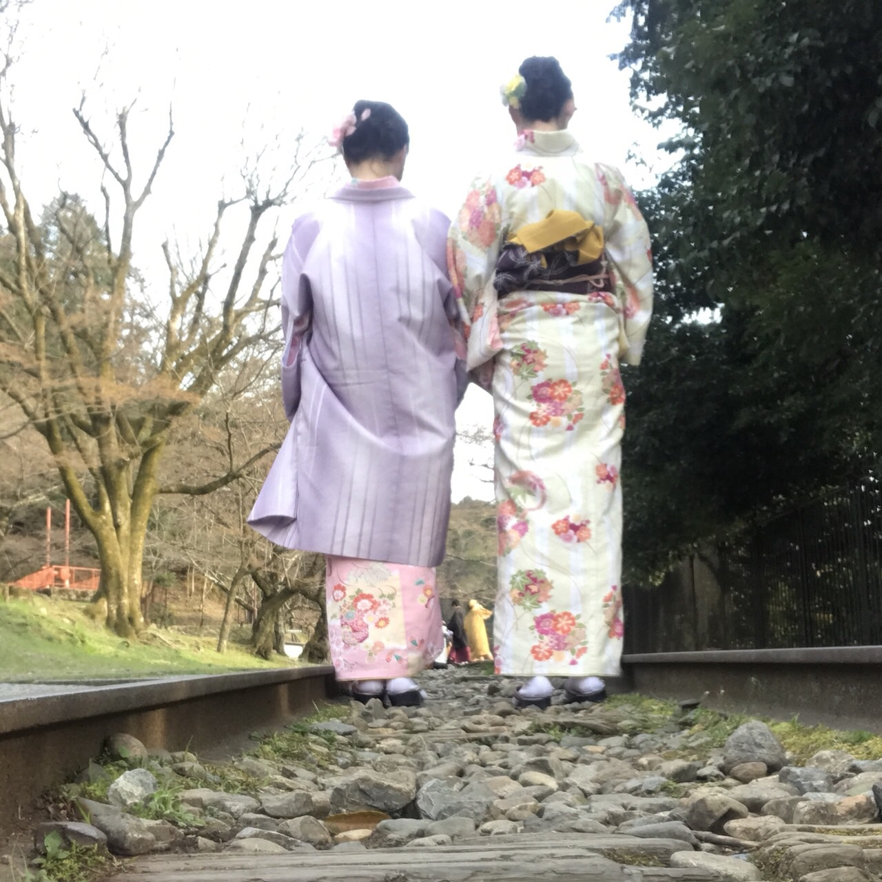 複数組のリピーター様♡春の京都へ♪2019年3月27日18