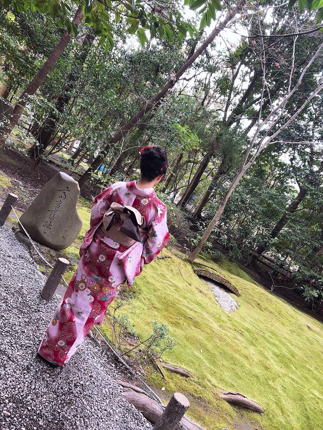 卒業旅行に着物で伏見稲荷大社へ♪2019年3月13日14