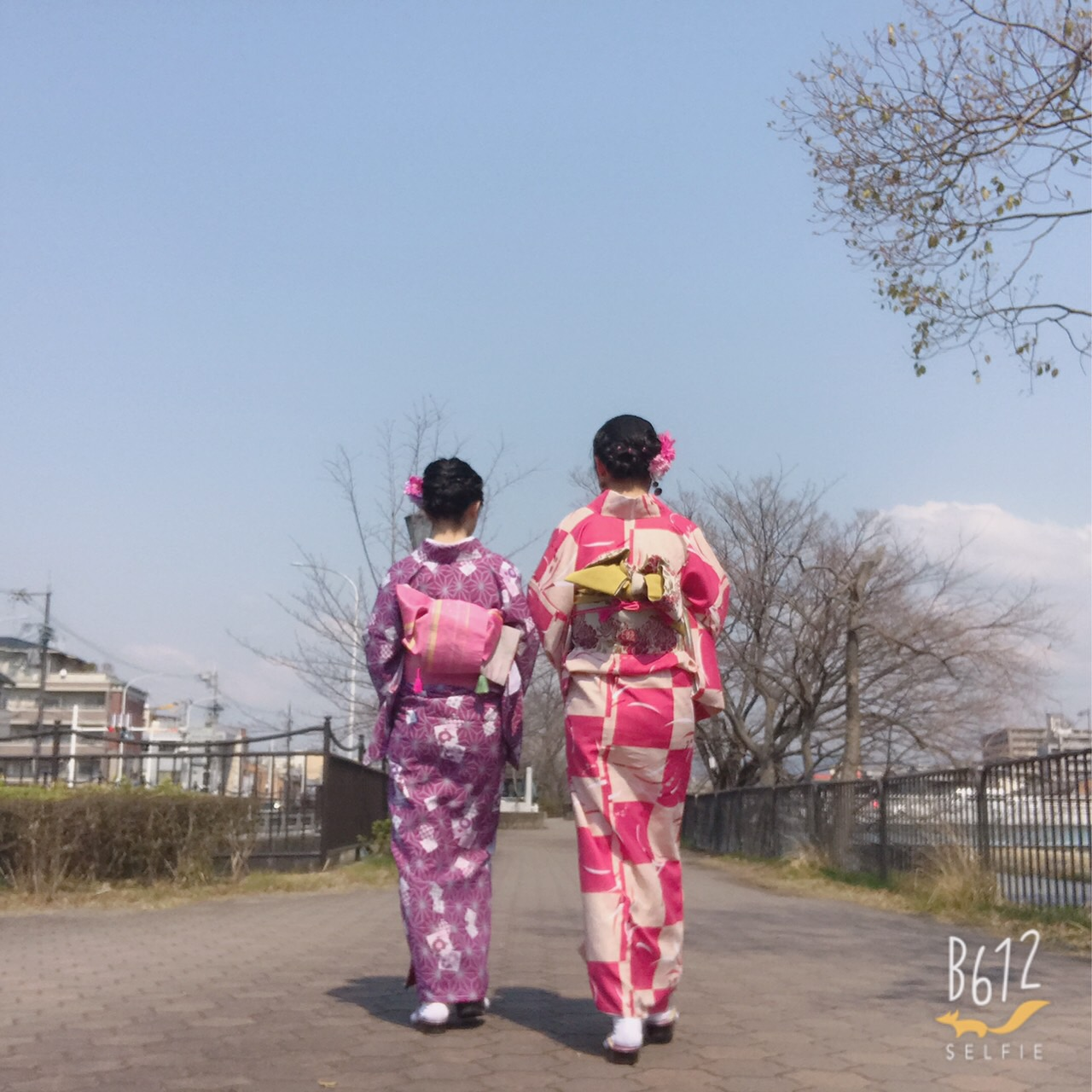 彼のお誕生日に着物で嵐山へ♡2019年3月15日4