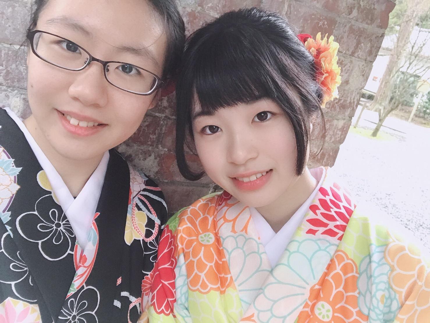 福岡から卒業旅行で東山花灯路へ♪2019年3月16日9