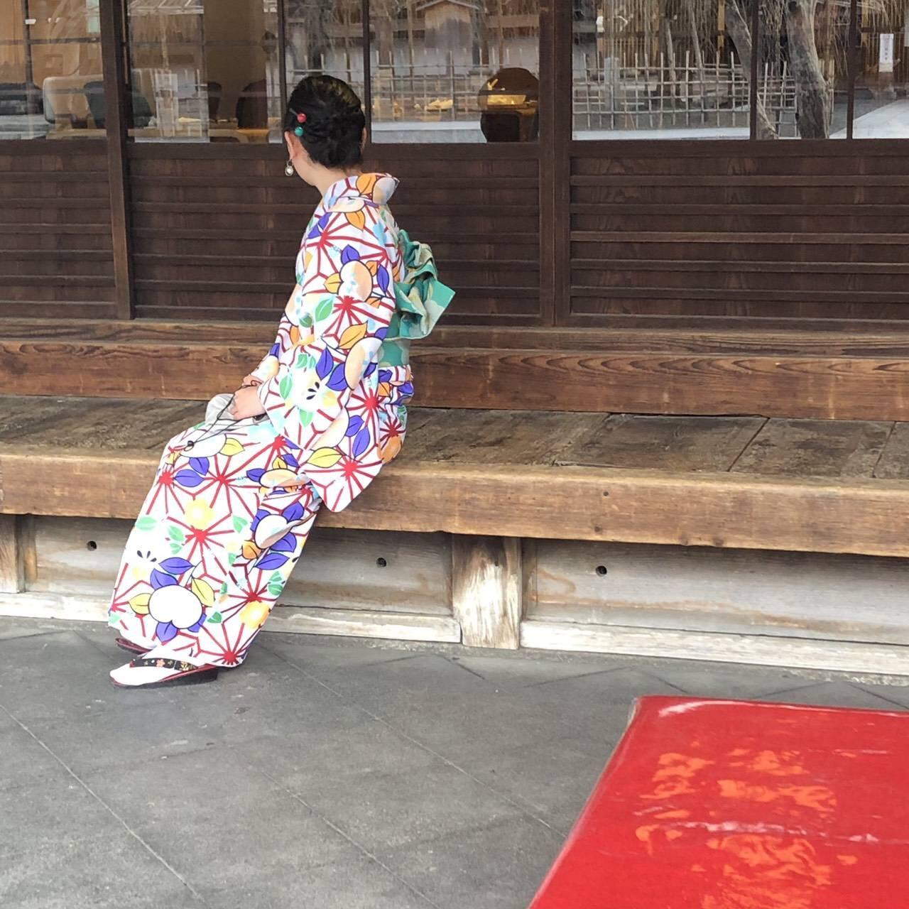 今日も京都御苑へお花見♡2019年3月26日3