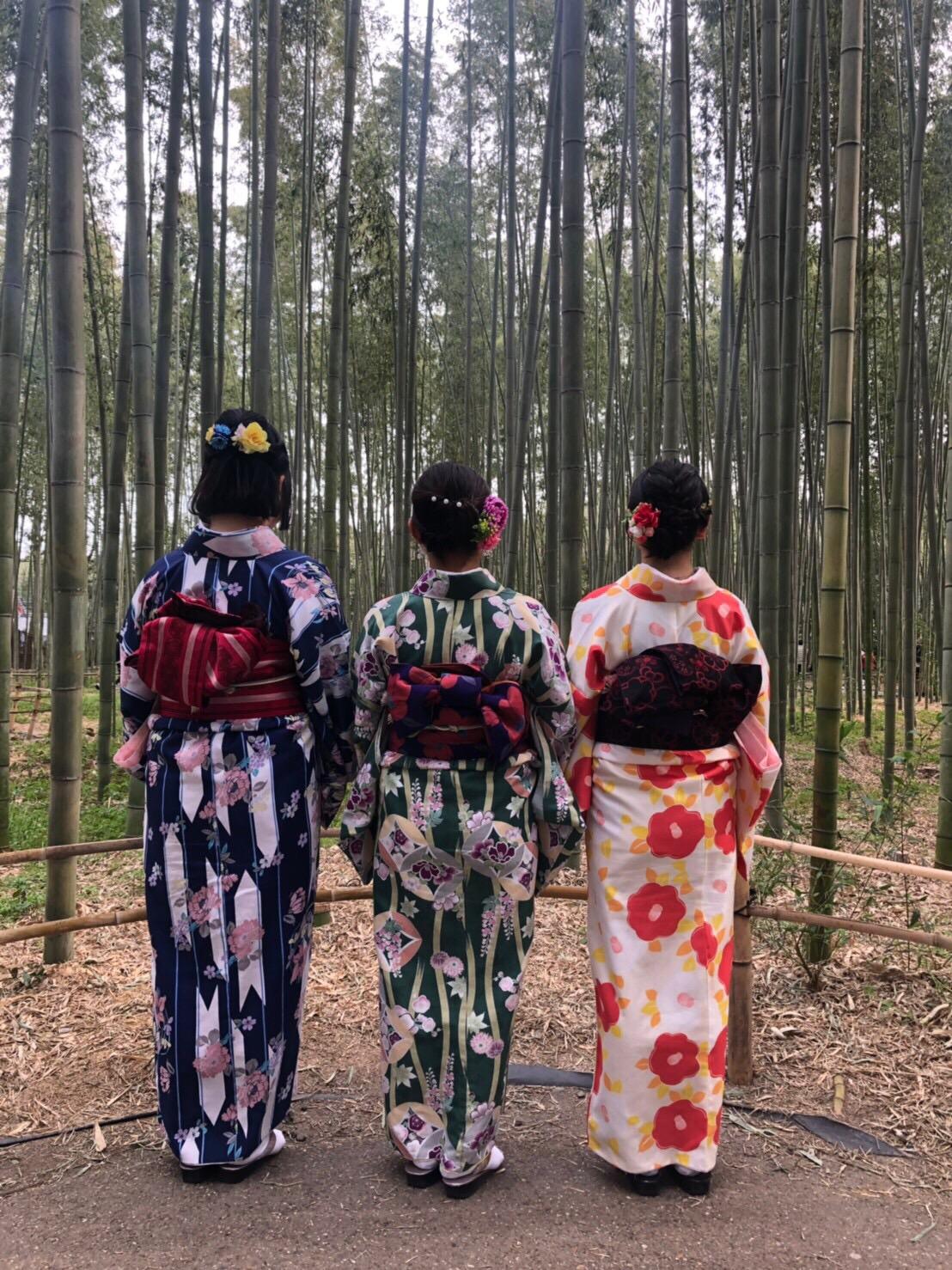 複数組のリピーター様♡春の京都へ♪2019年3月27日12