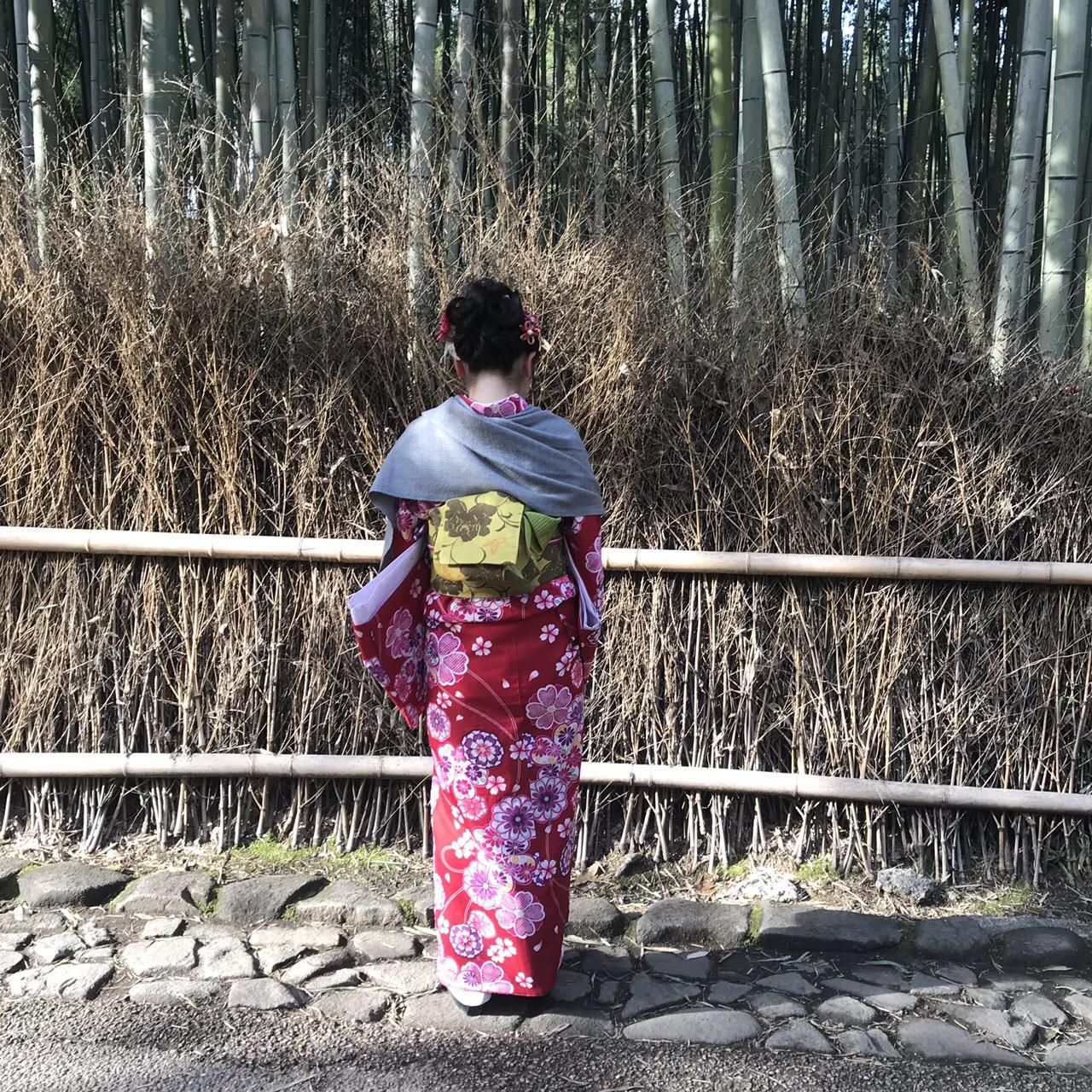 卒業旅行に着物で伏見稲荷大社へ♪2019年3月13日30
