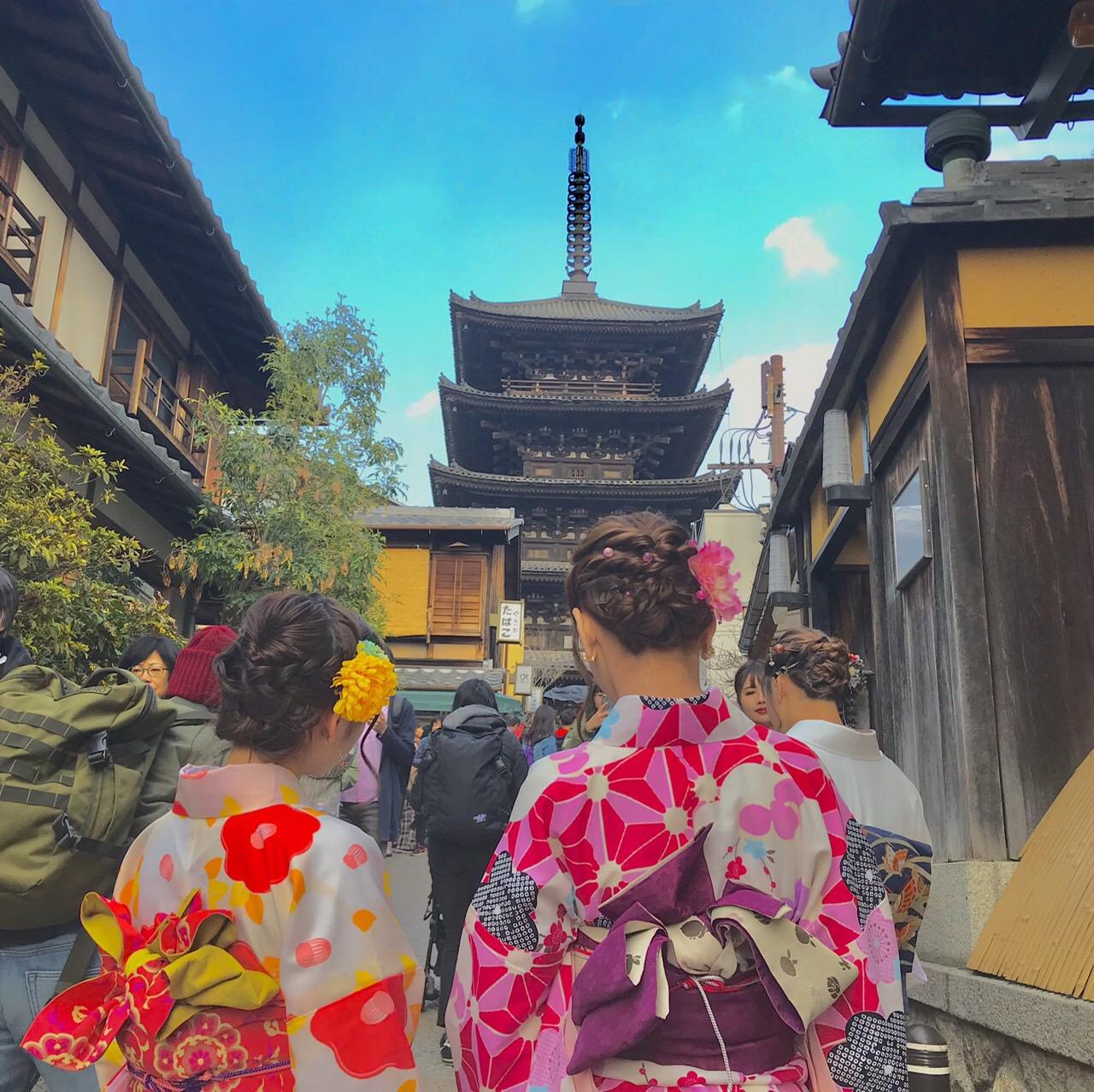 今日も京都御苑へお花見♡2019年3月26日7