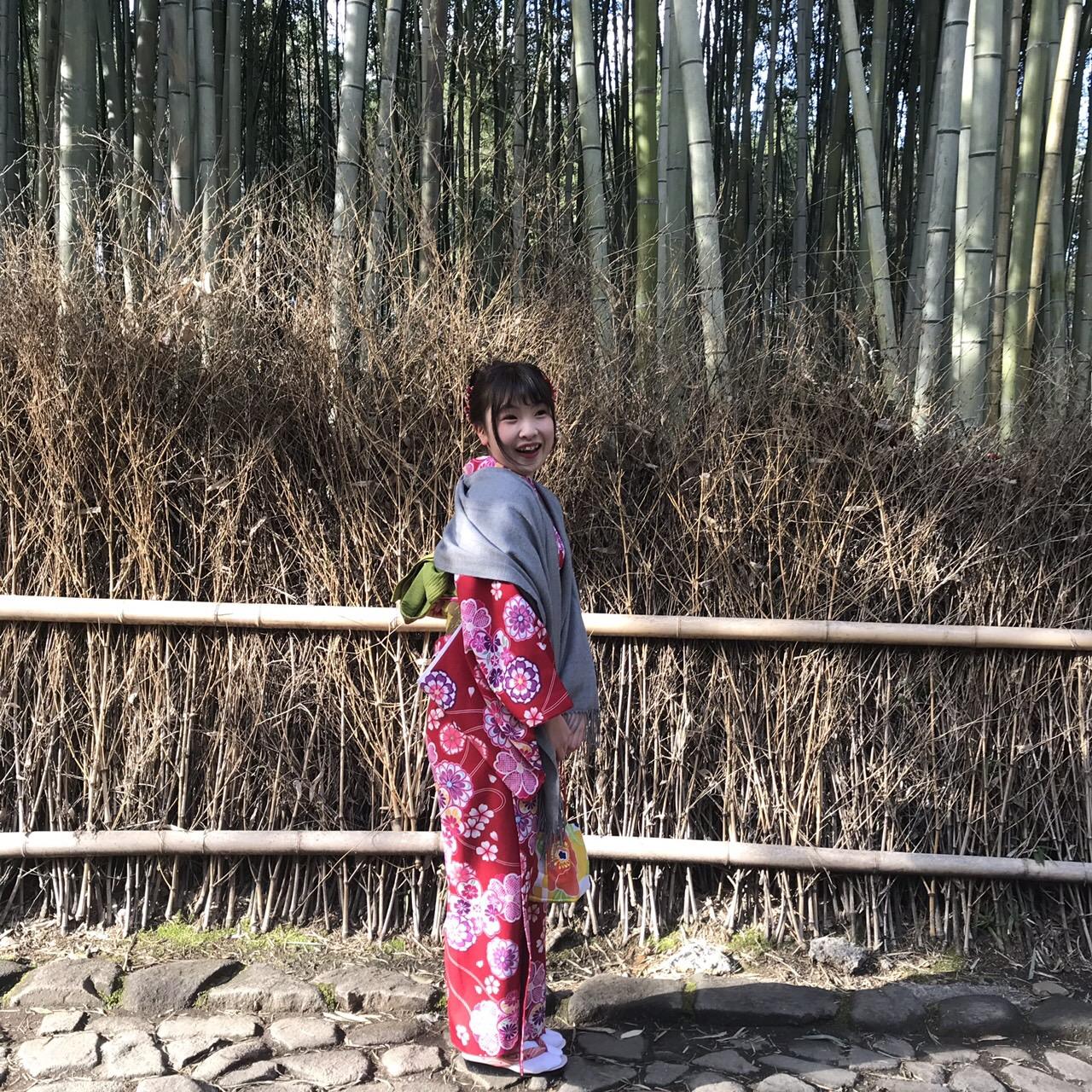 卒業旅行に着物で伏見稲荷大社へ♪2019年3月13日29
