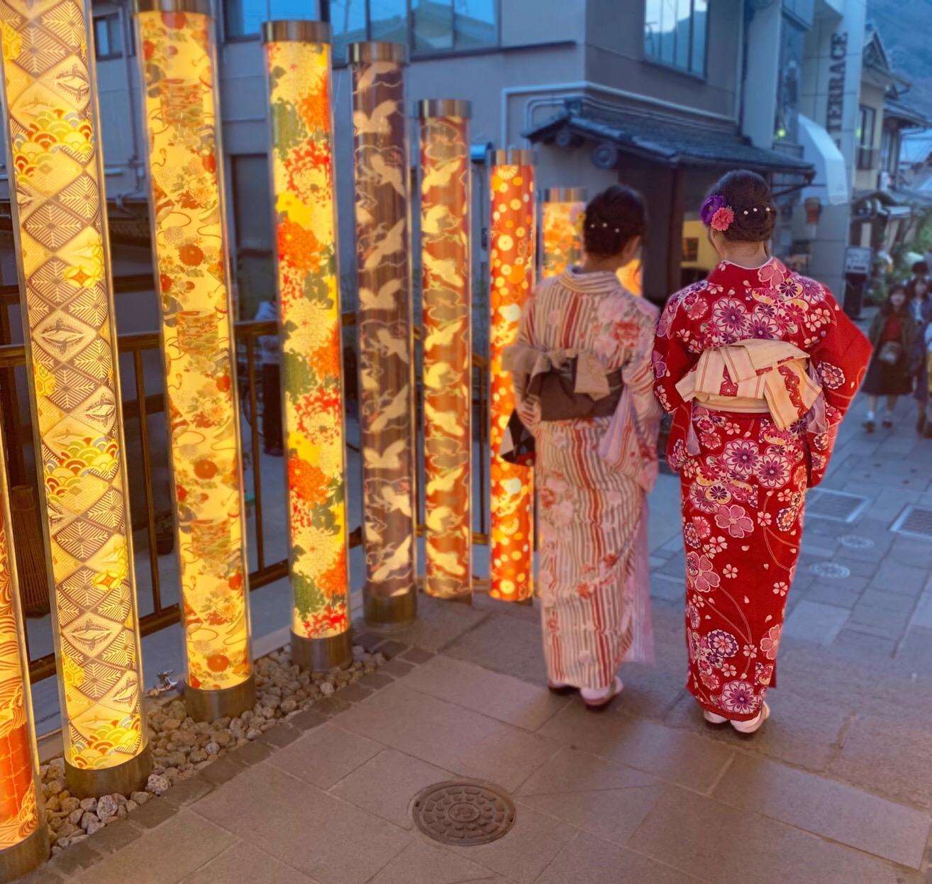 複数組のリピーター様♡春の京都へ♪2019年3月27日9