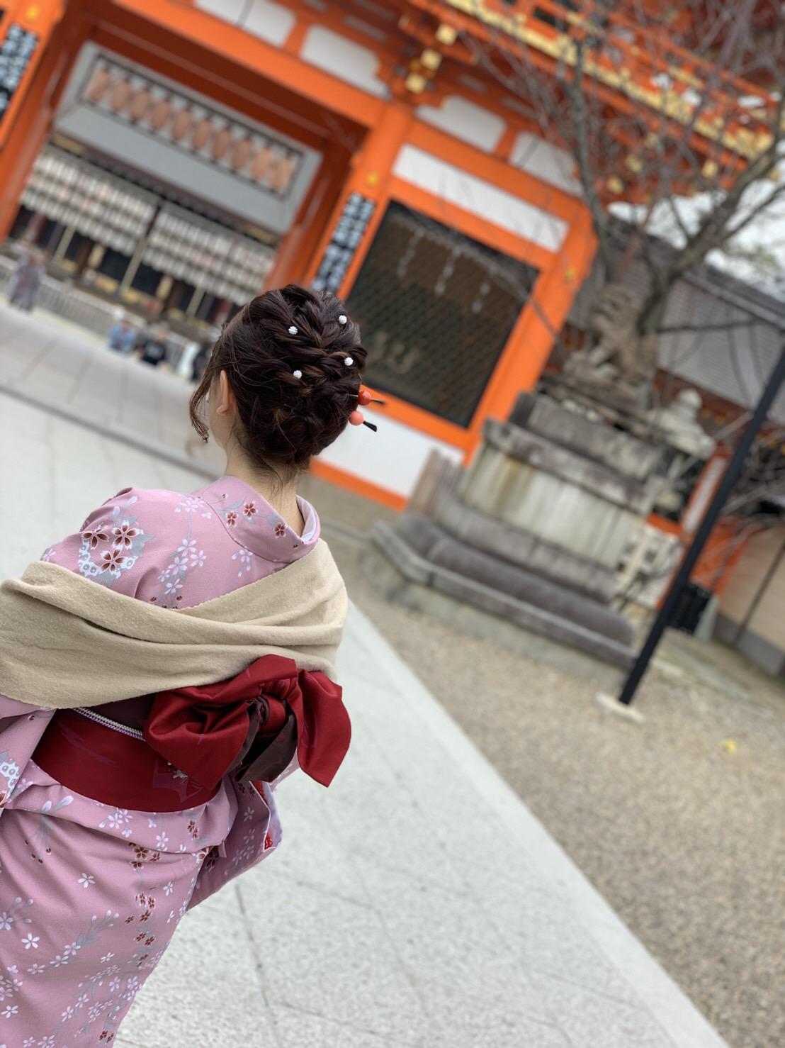 カップルで嵯峨嵐山 竹林の小径へ♡2019年3月6日2