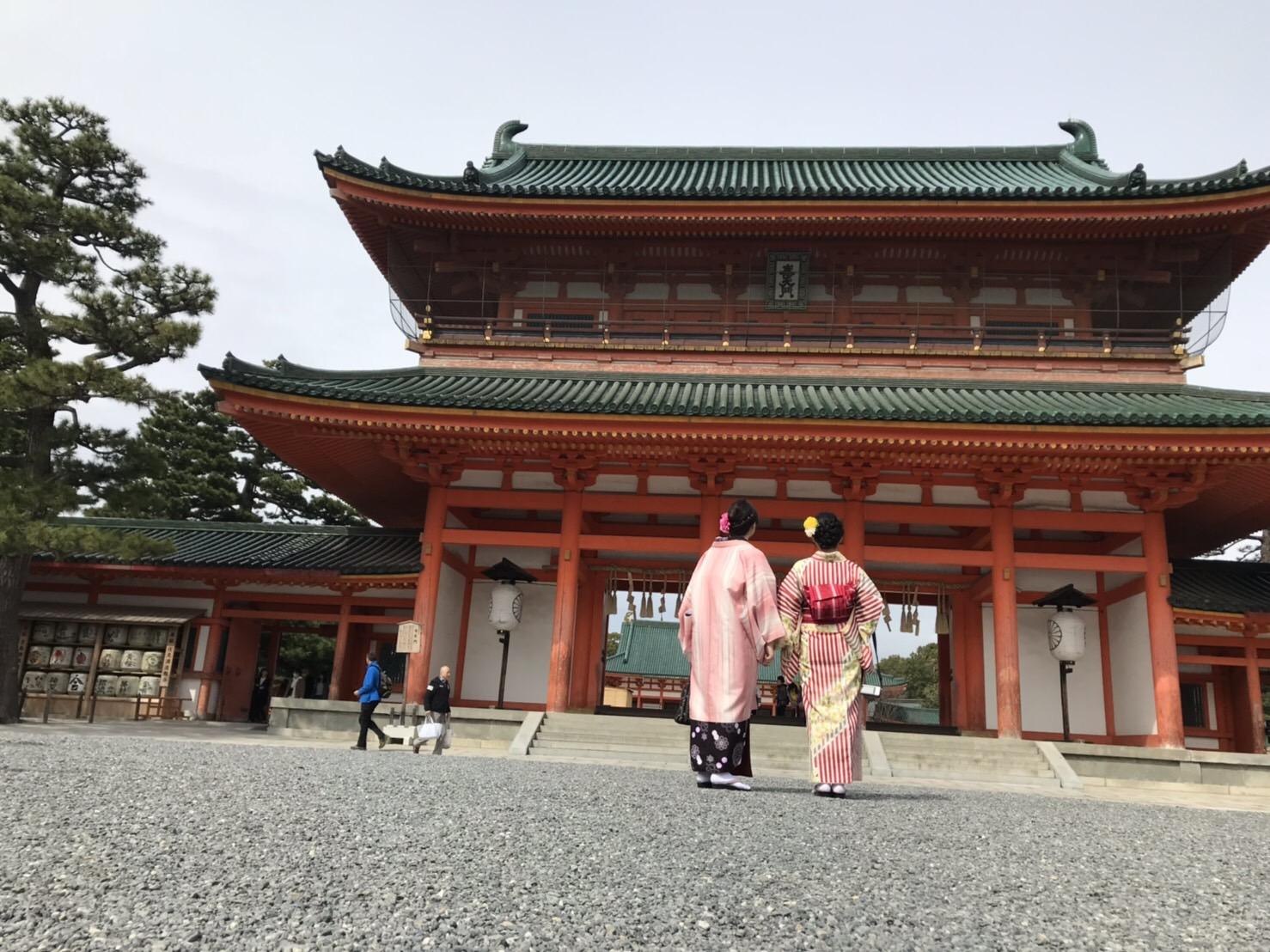 カップルで嵯峨嵐山 竹林の小径へ♡2019年3月6日5