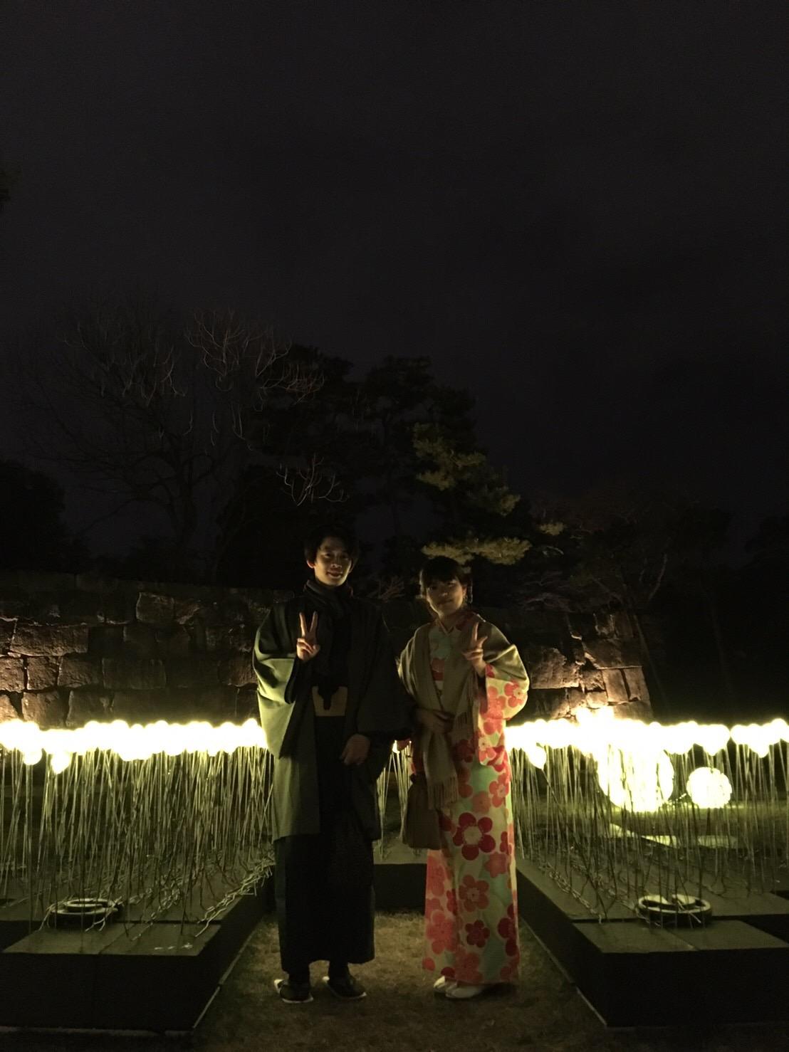 二条城桜まつり2019ライトアップ2019年3月22日20