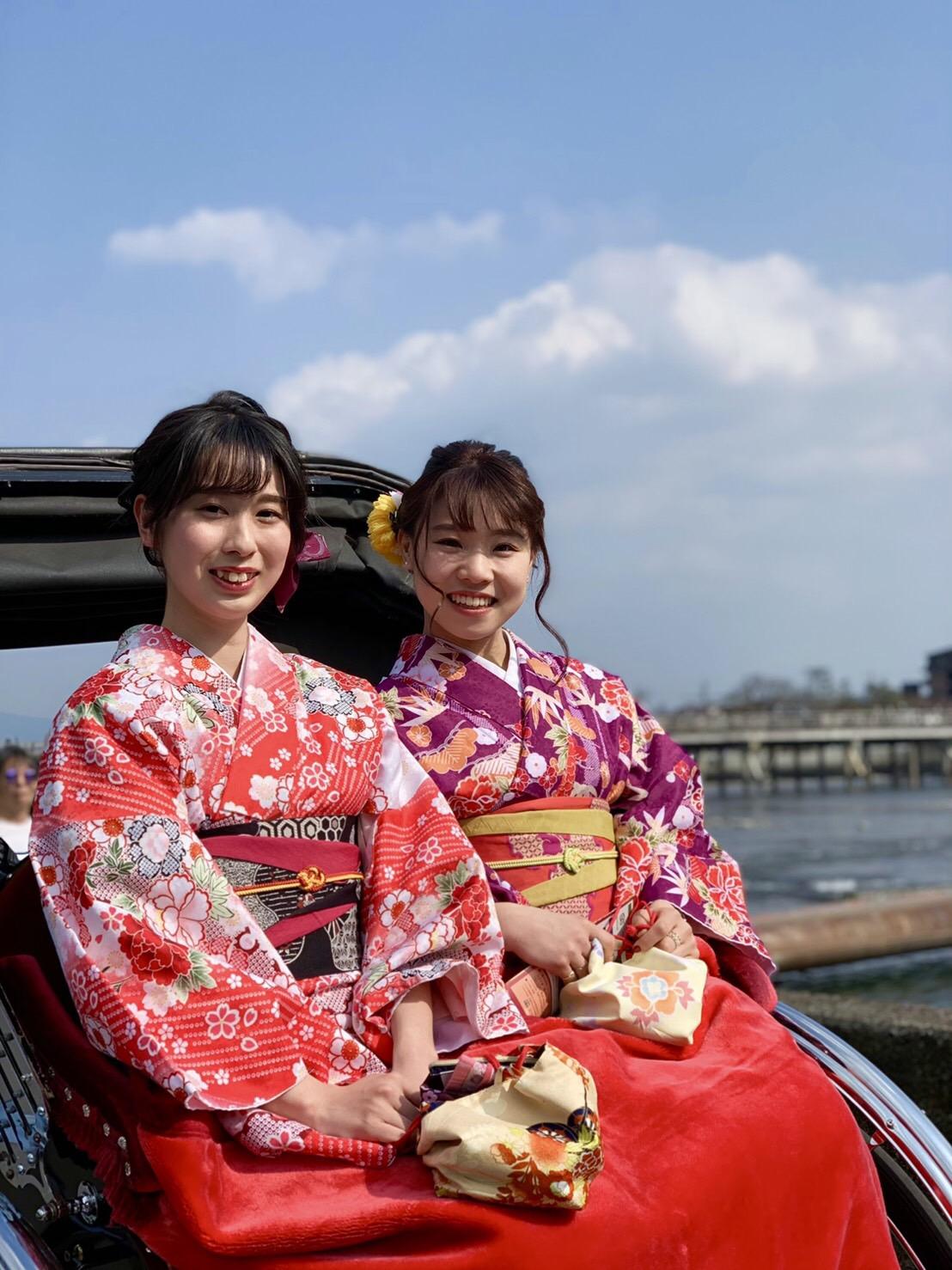 今日も京都御苑へお花見♡2019年3月26日19