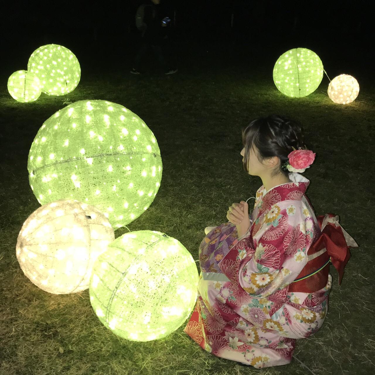 京都御苑の枝垂桜2019年3月25日9