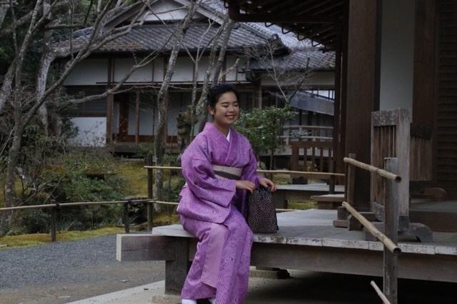 卒業旅行に着物で伏見稲荷大社へ♪2019年3月13日18