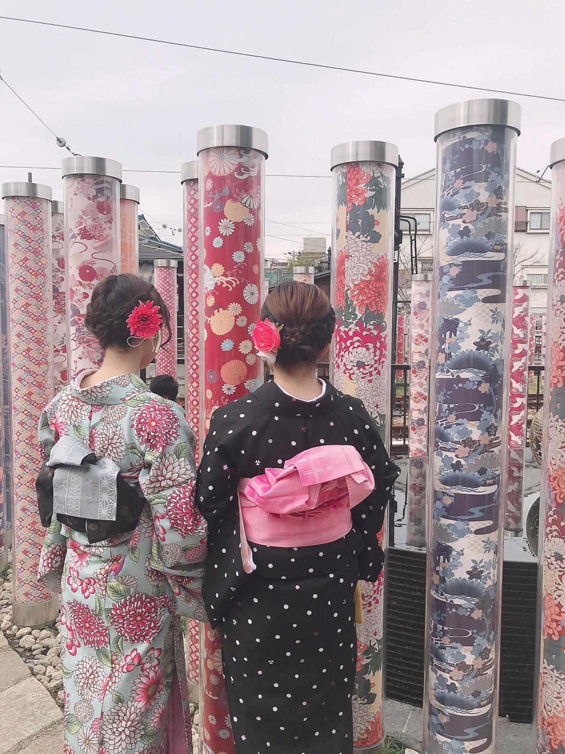 カップルで嵯峨嵐山 竹林の小径へ♡2019年3月6日12