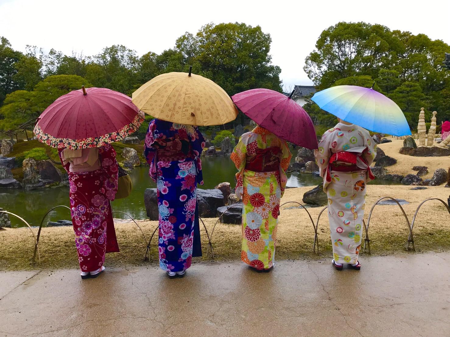 雨の京都を満喫♪2019年3月10日1