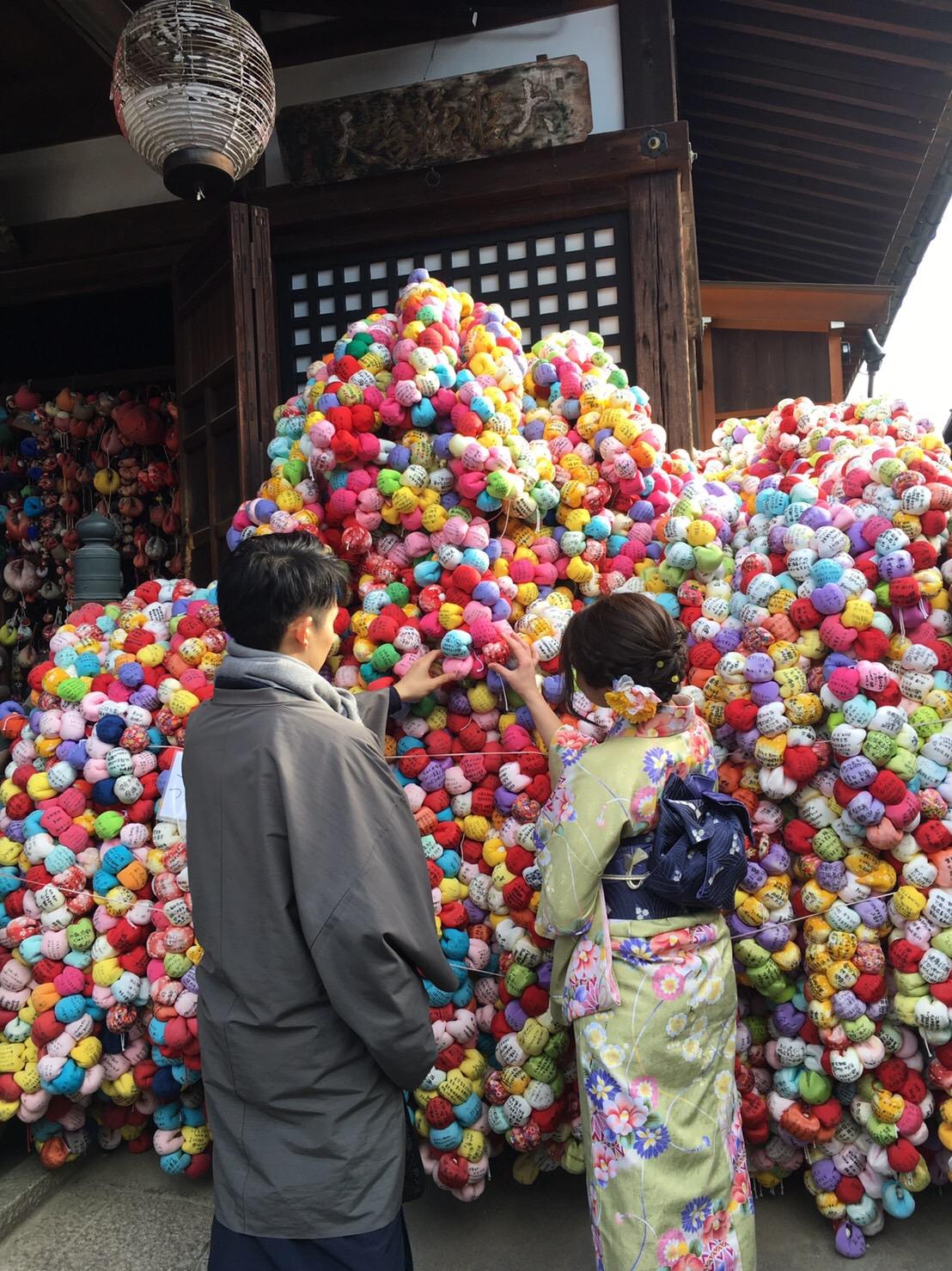 福岡から卒業旅行で東山花灯路へ♪2019年3月16日10