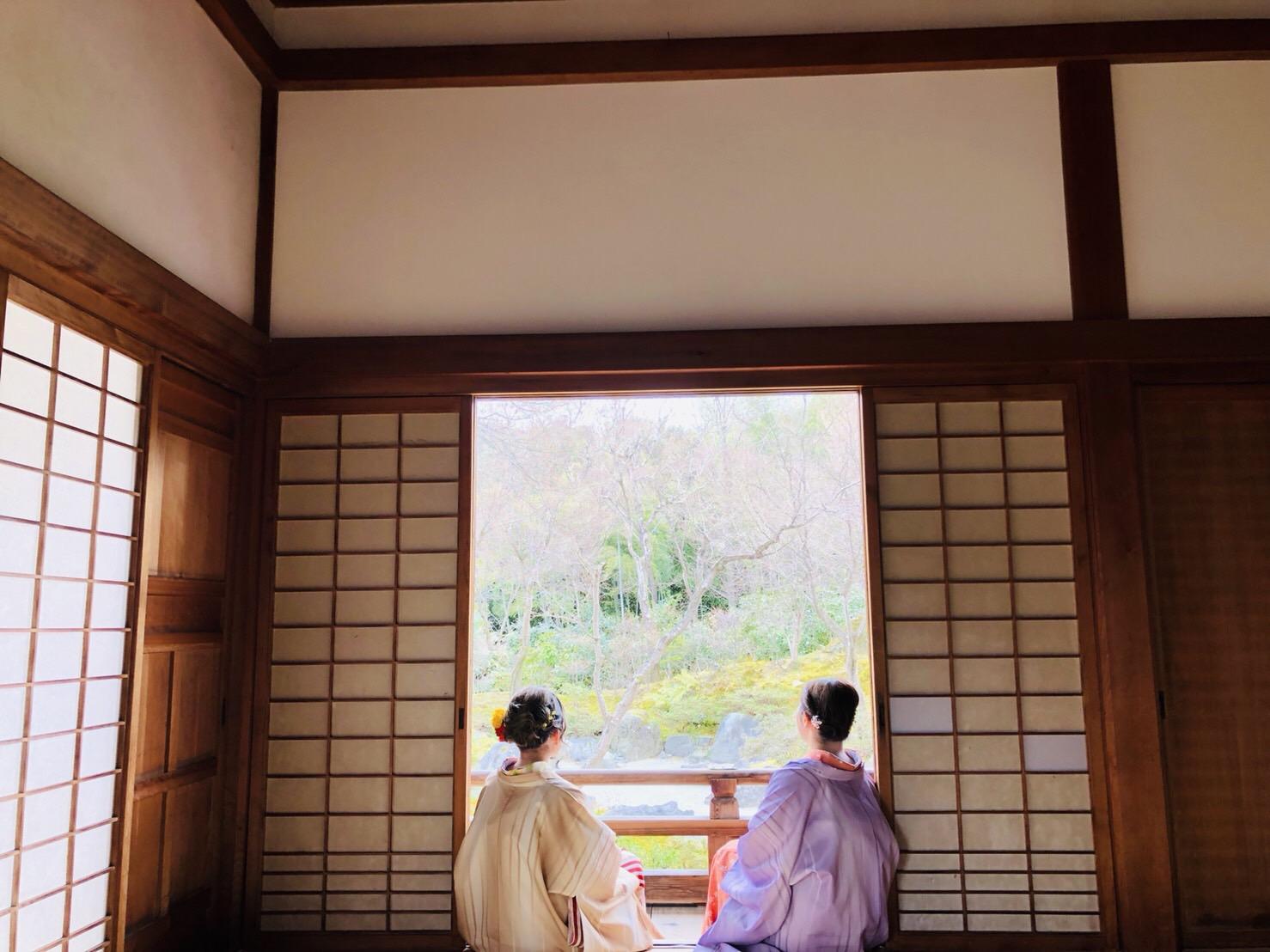 卒業の思い出に着物で伏見稲荷大社へ♪2019年3月19日15