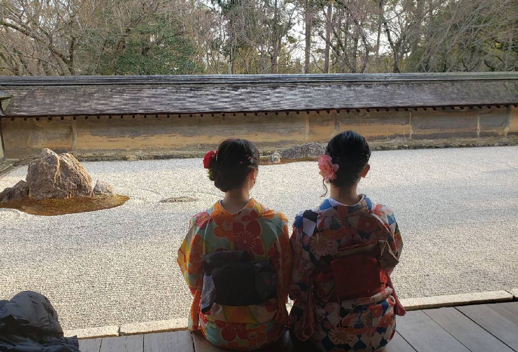 複数組のリピーター様♡春の京都へ♪2019年3月27日17
