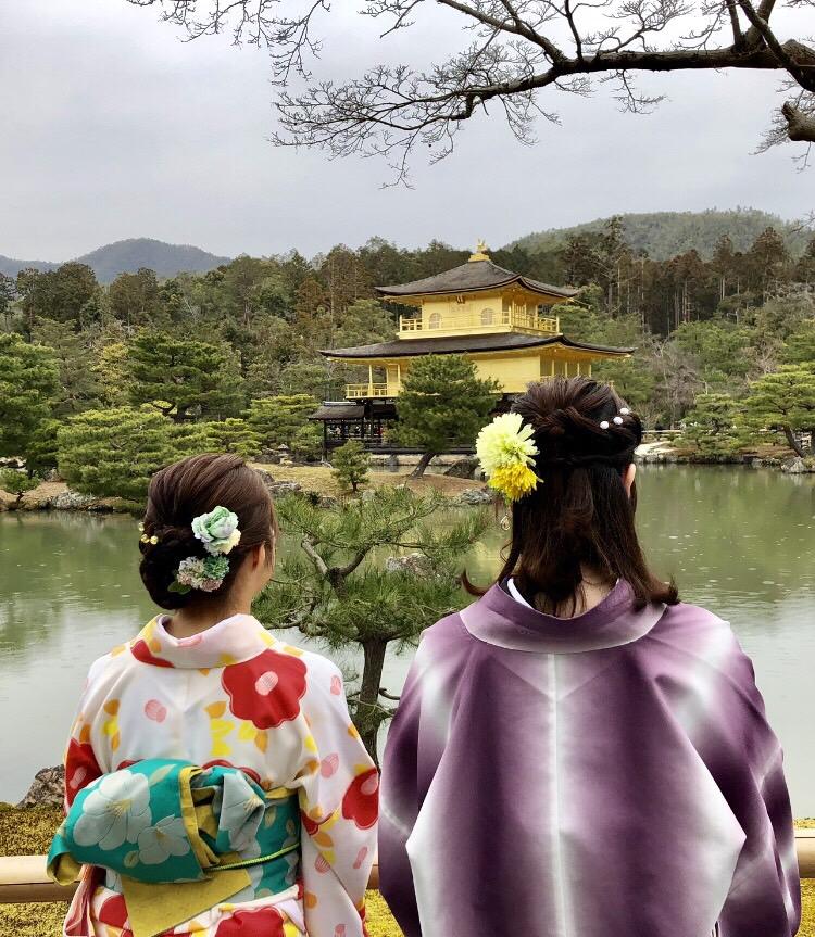 カップルで嵯峨嵐山 竹林の小径へ♡2019年3月6日3