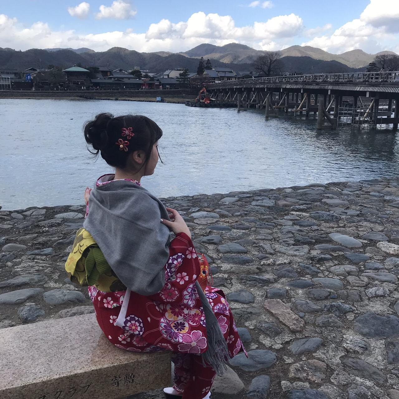 卒業旅行に着物で伏見稲荷大社へ♪2019年3月13日28