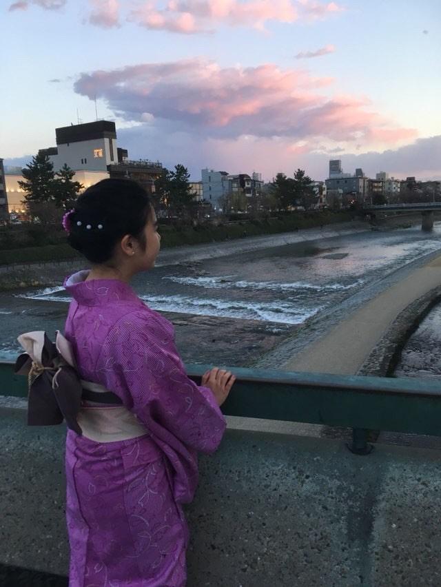 卒業旅行に着物で伏見稲荷大社へ♪2019年3月13日23