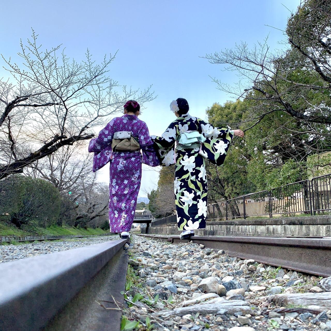 卒業旅行に着物で伏見稲荷大社へ♪2019年3月13日26