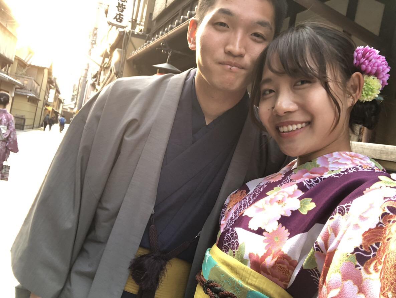 複数組のリピーター様♡春の京都へ♪2019年3月27日19