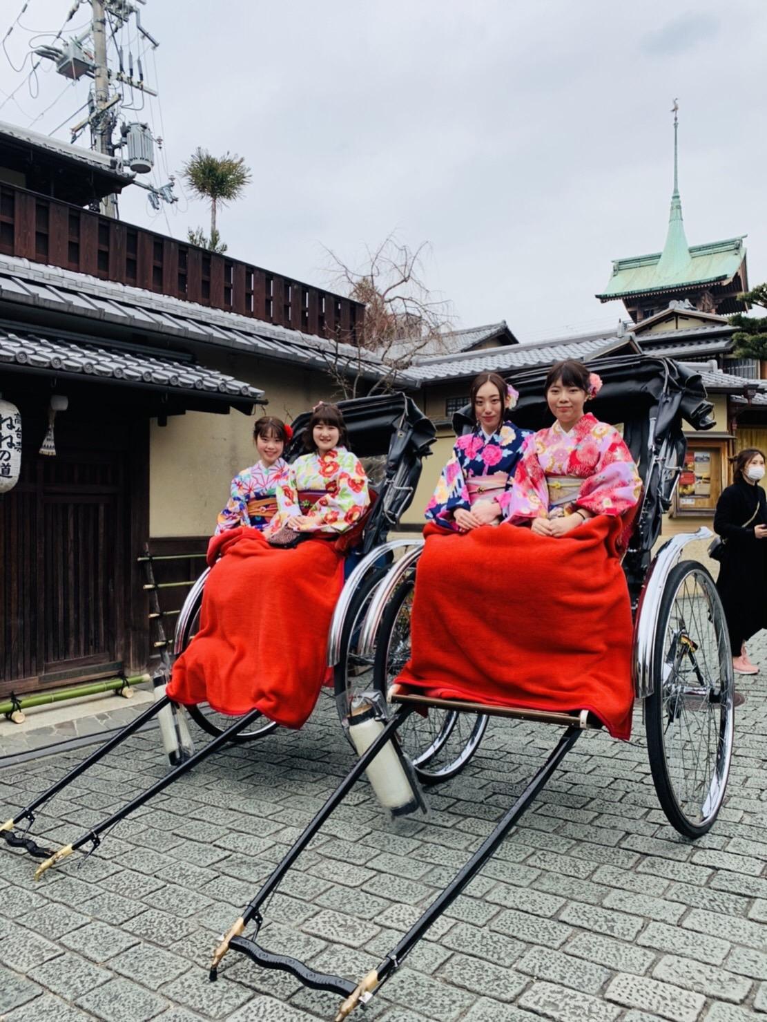 カップルで嵯峨嵐山 竹林の小径へ♡2019年3月6日7