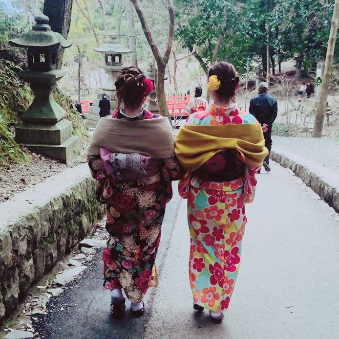広島から卒業旅行の大学生♡2019年3月14日1
