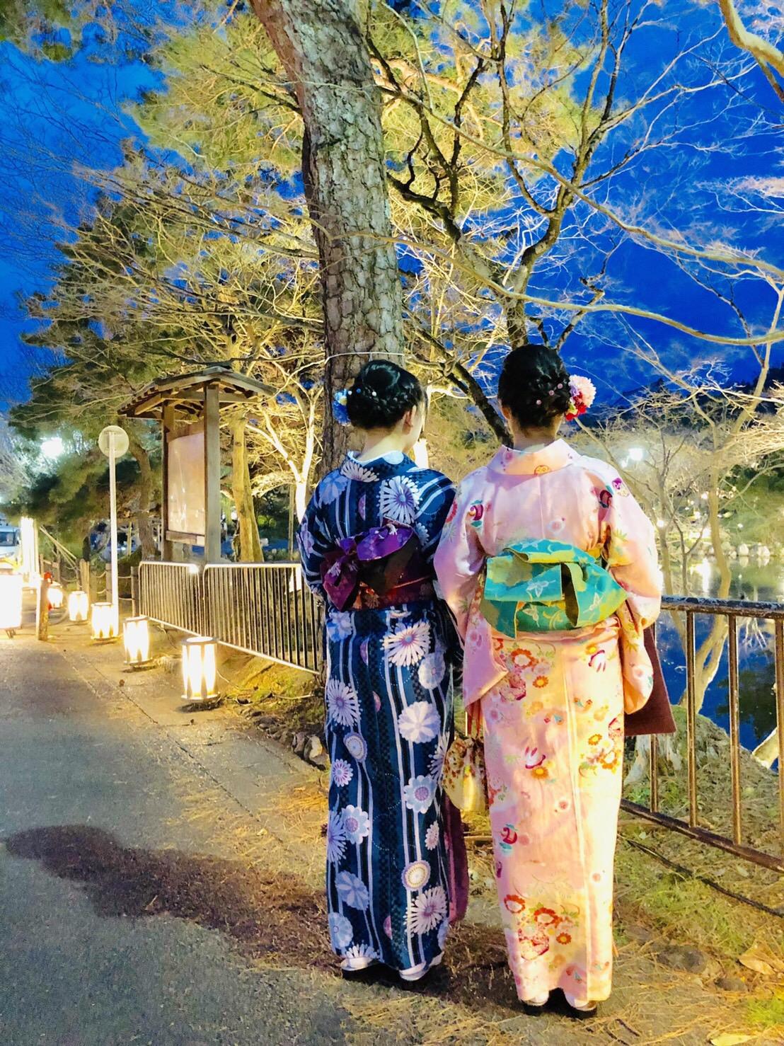 彼のお誕生日に着物で嵐山へ♡2019年3月15日16