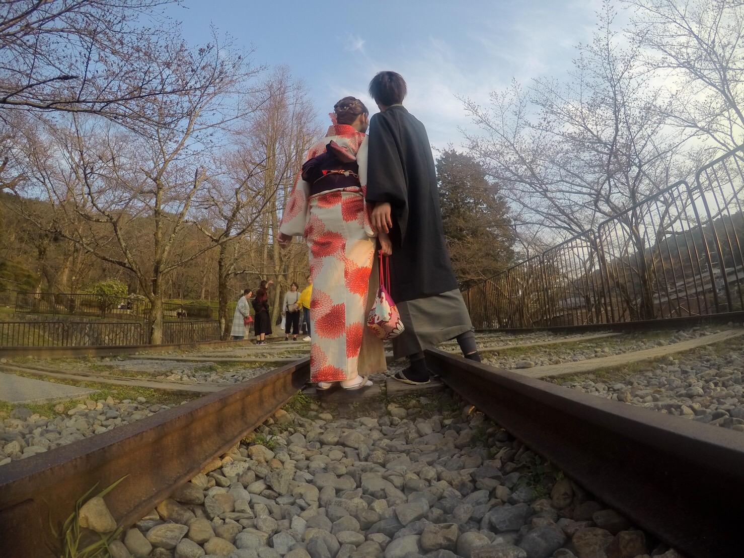 複数組のリピーター様♡春の京都へ♪2019年3月27日16
