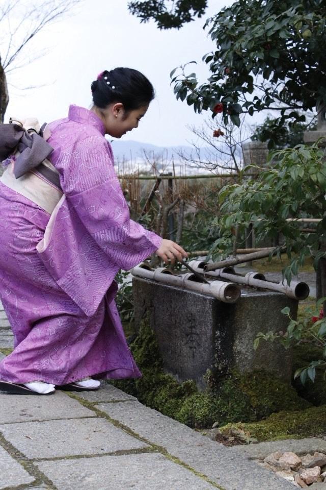 卒業旅行に着物で伏見稲荷大社へ♪2019年3月13日22