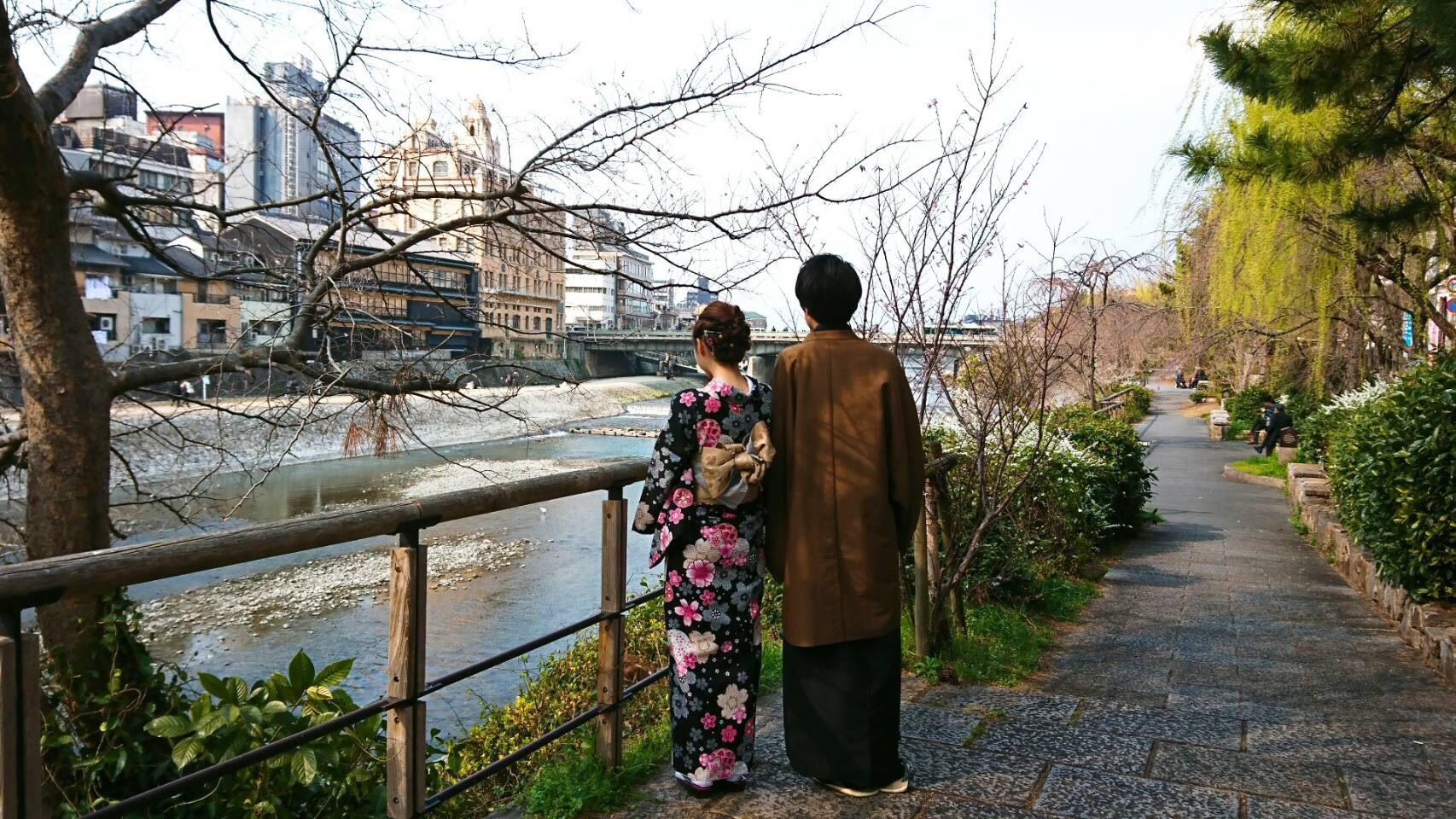 今日も京都御苑へお花見♡2019年3月26日17