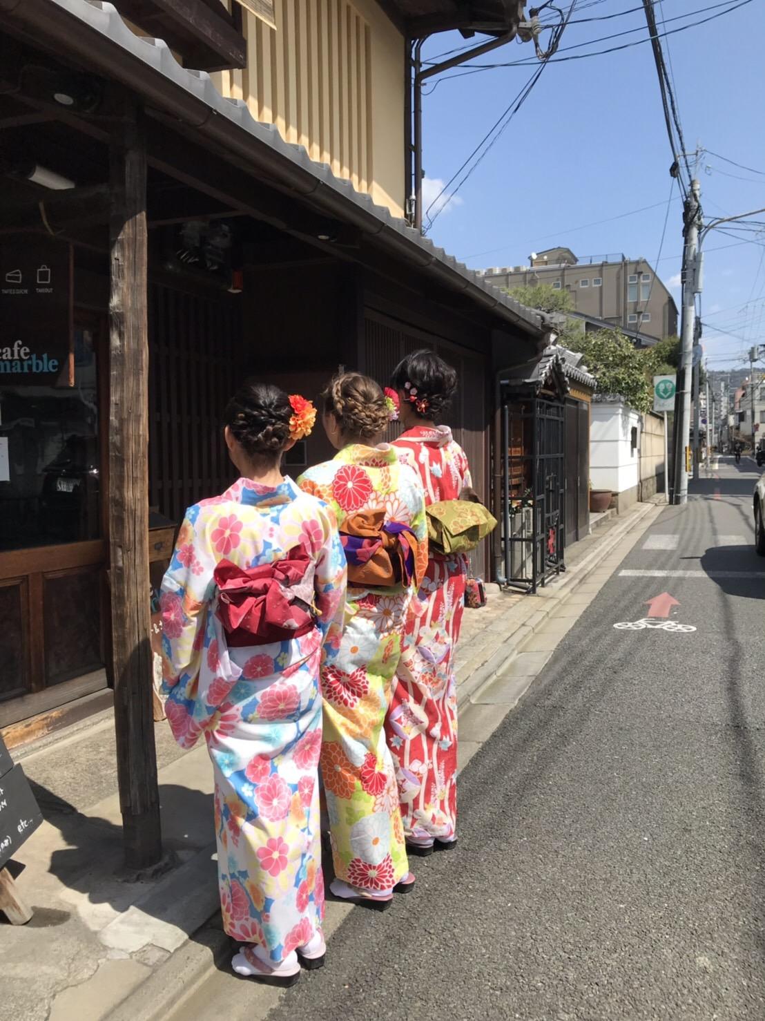 今日も京都御苑へお花見♡2019年3月26日10