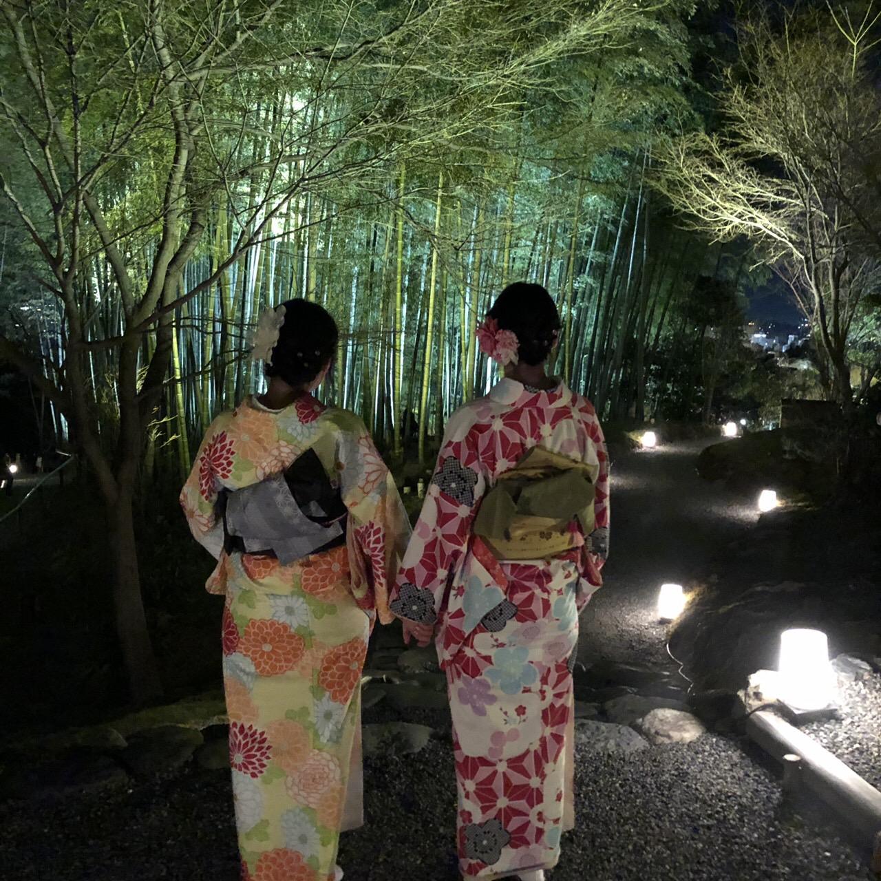 高台寺も春の特別夜間拝観始まってまぁす2019年3月9日10