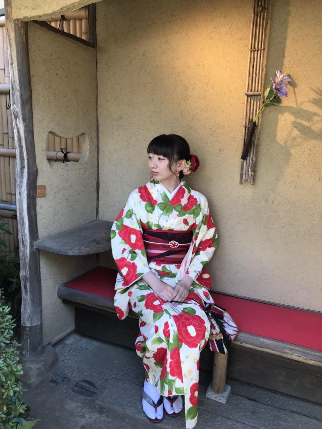 週末に京都で着物レンタル♪2019年4月13日14